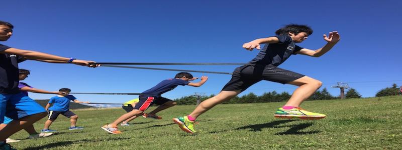アルペンスキー選手のトレーニング
