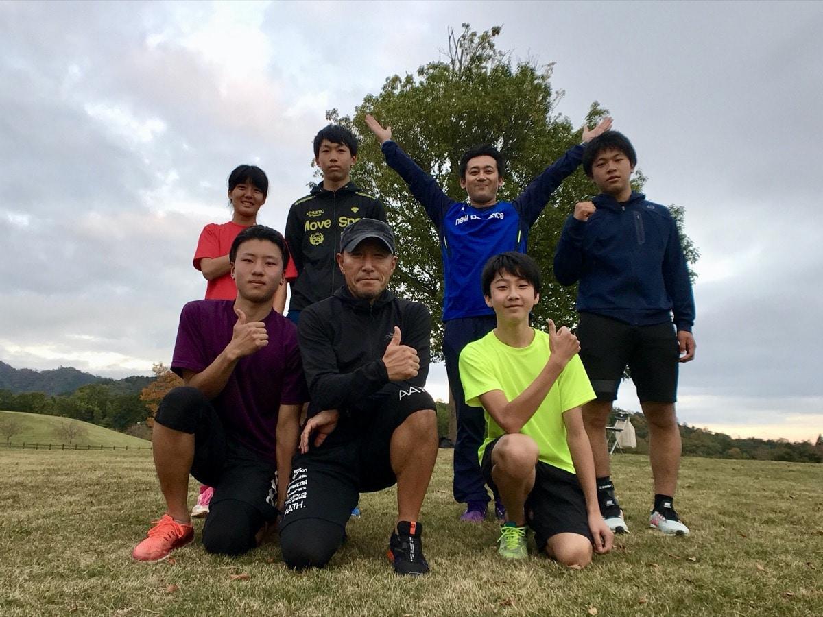 福知山成美高校スキー部・チームトレーニングサポート