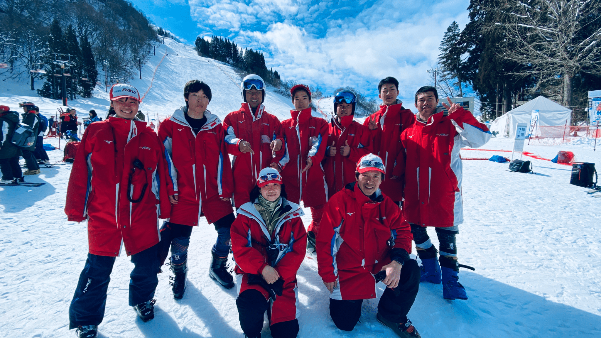 福井県スキー連盟・国体サポート