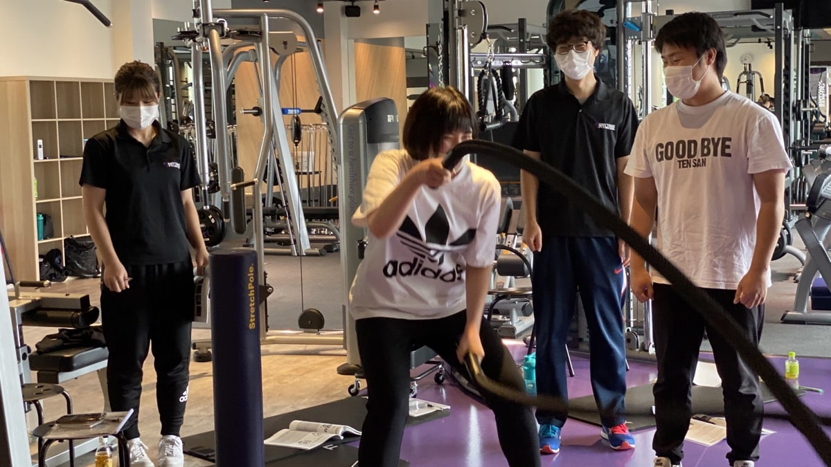 Anytime Fitness 松戸二十世紀が丘・Queenax研修