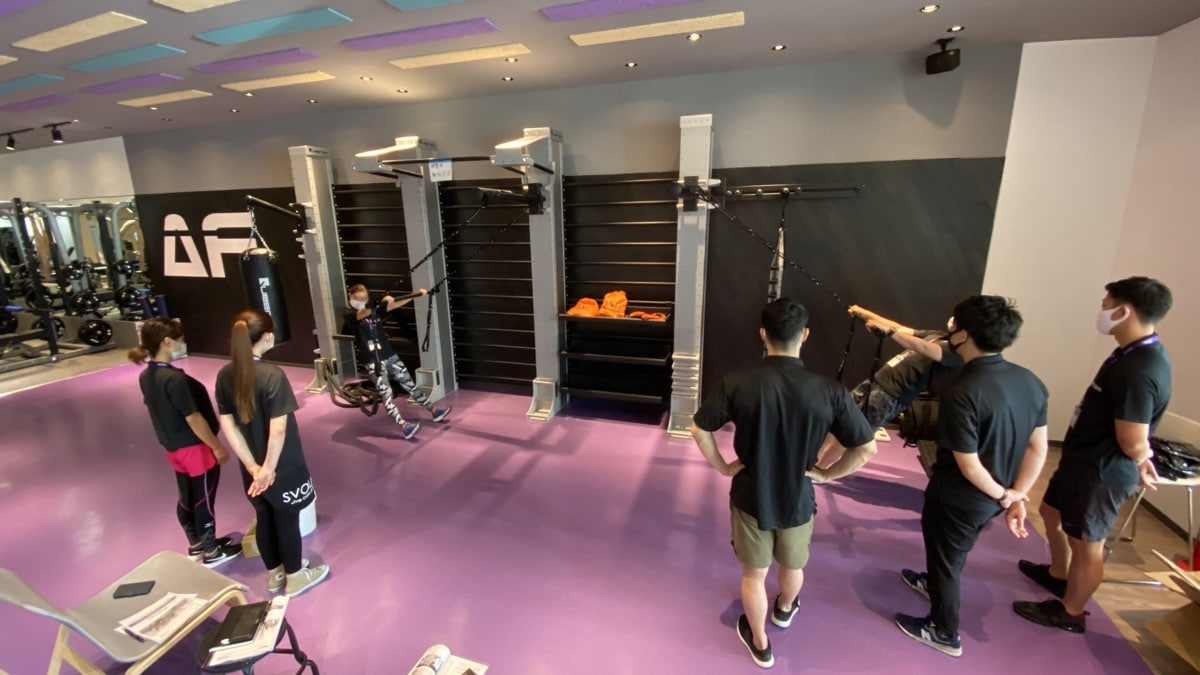 Anytime Fitness 名護・Queenaxファンクショナルトレーニング研修