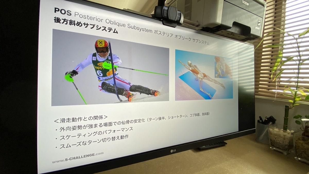 日本体育大学スキー部・オンライントレーニング講習会
