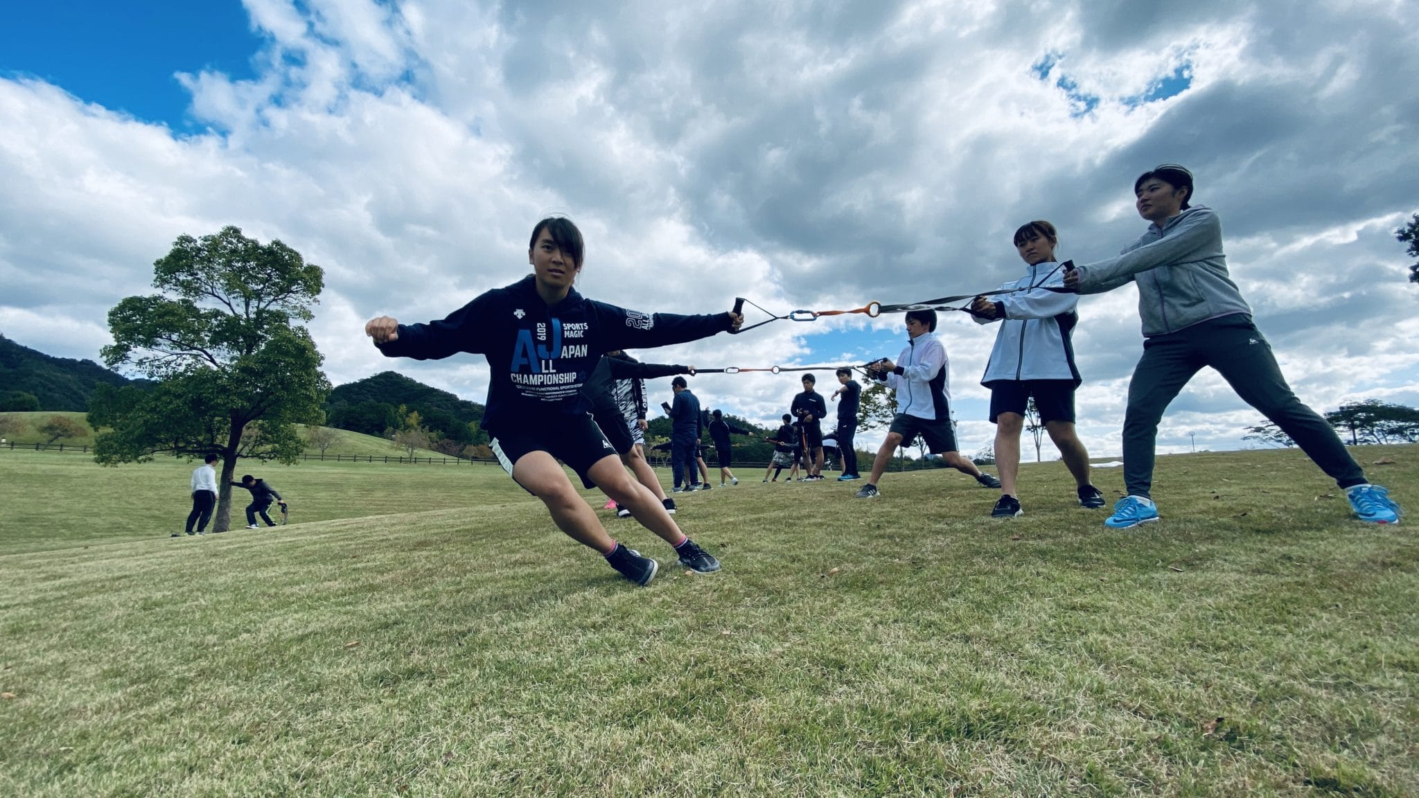 福知山成美・同志社高校・同志社女子中高スキー部・合同トレーニング