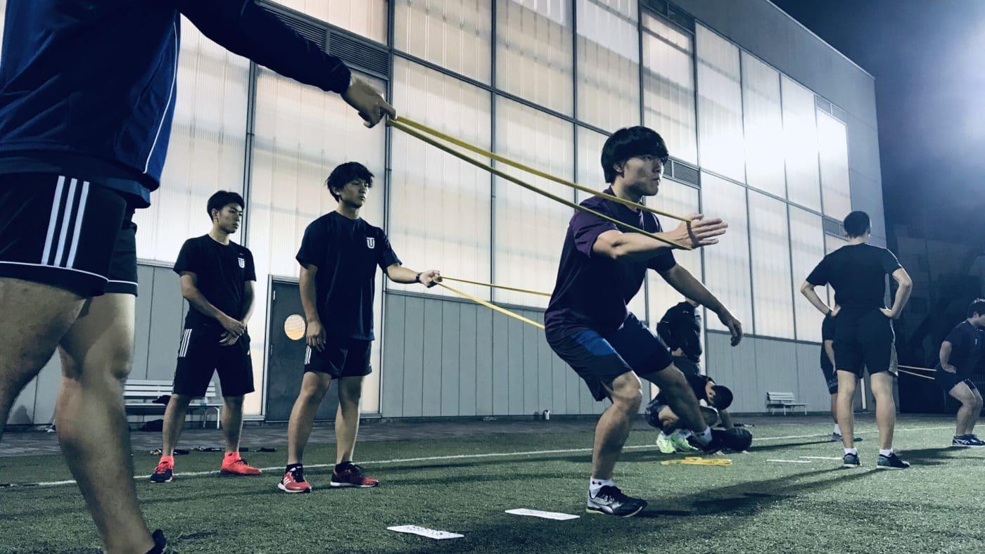東洋大学スキー部チームトレーニングサポート