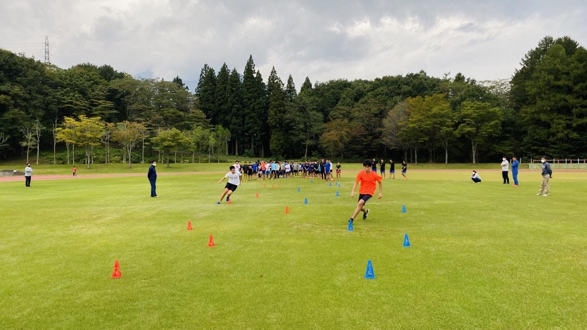 関根学園高校スキー部トレーニング講習会