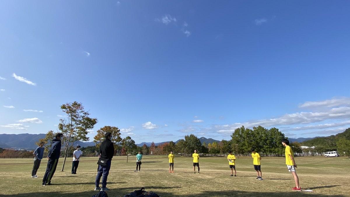 福知山成美高校スキー部&同志社高校スキー部トレーニングサポート