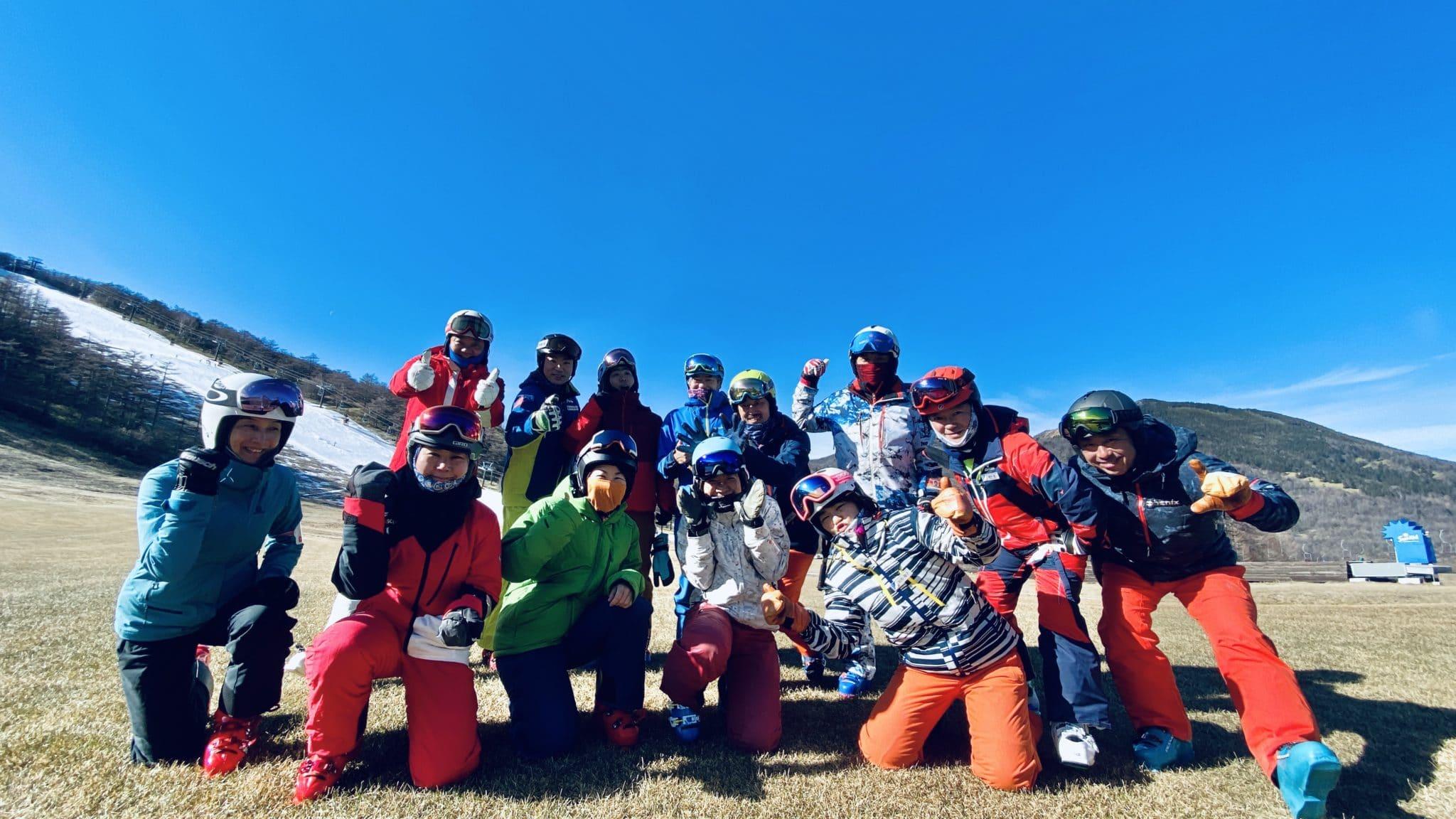エスチャレンジ・SKI 雪上 Workshop #218