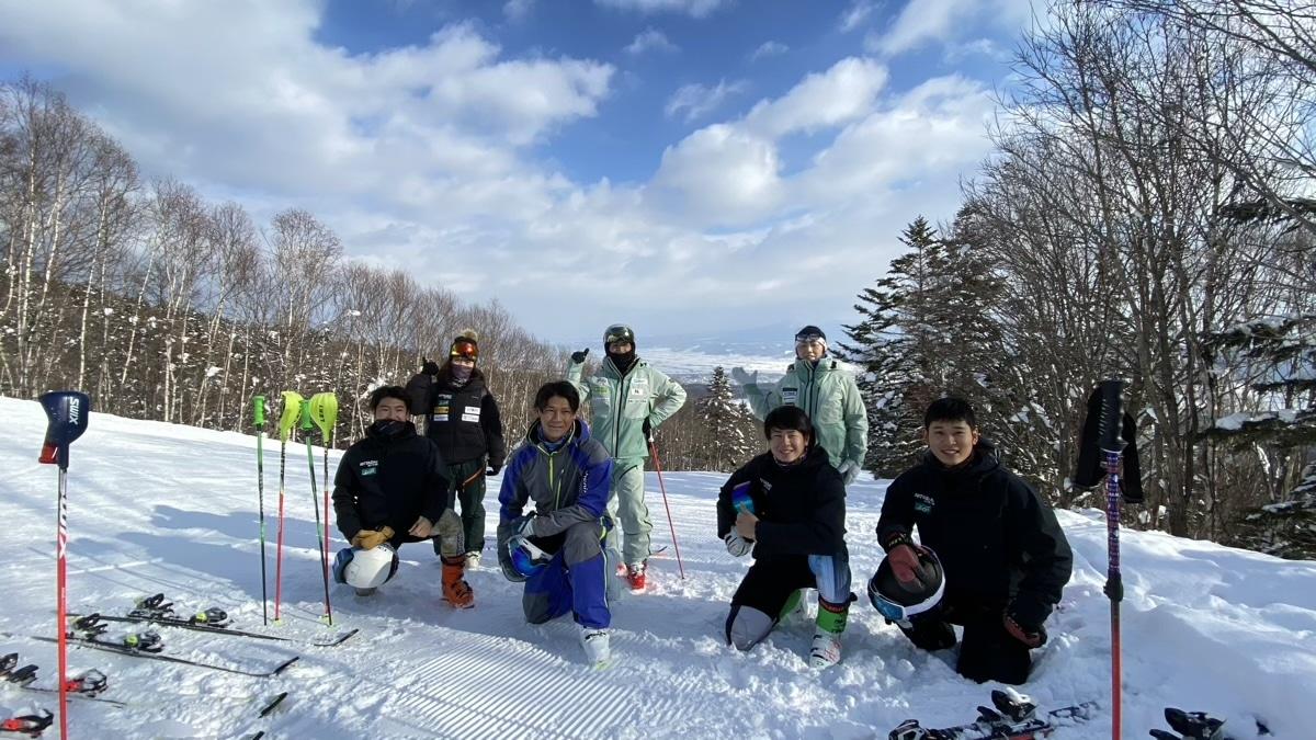 日本体育大学スキー部・雪上強化合宿@富良野