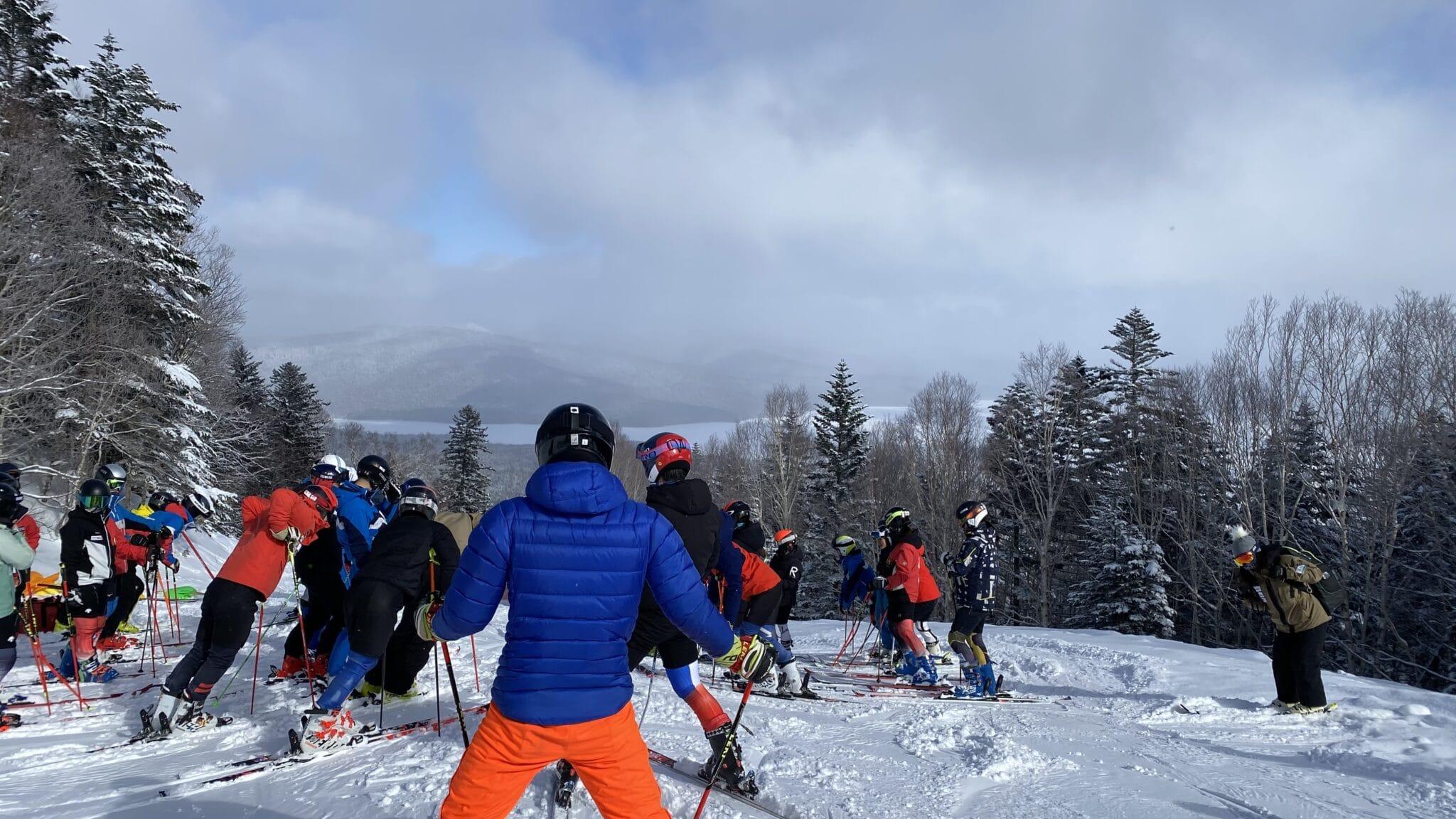 日本体育大学スキー部@阿寒